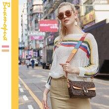 CHARAS brand women's Messenger bag high quality Shoulder Bags springtime new girl Clutch Detachable shoulder strap PU hand