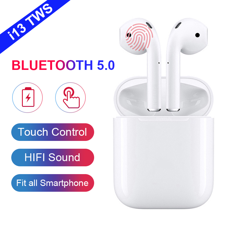 2019 NEW i13 tws Bluetooth Earphones Wireless earphone Bluetooth 5.0 Earbuds Touch control headset for all phone PK i12 i10 tws2019 NEW i13 tws Bluetooth Earphones Wireless earphone Bluetooth 5.0 Earbuds Touch control headset for all phone PK i12 i10 tws