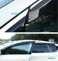 car styling car body cover Stick lamp plastic Window glass Wind Visor Rain/Sun Guard Vent case for Nissan Murano 2015 2017