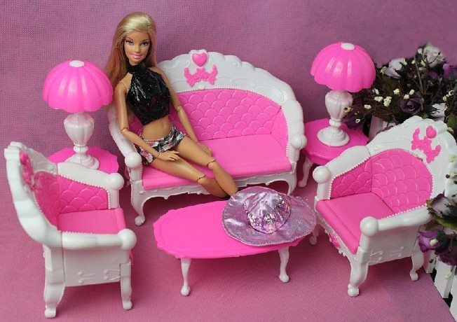 discount girl birthday gift plastic sofa couch desk lamp 6