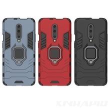 finger ring armor case for oneplus 7 pro oneplus 7 luxury original stand car holder full phone Hard back cover