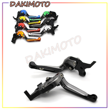 for Yamaha FZ-09/MT-09/SR (Not FJ-09) 2014-2016  with logo CNC Motorcycle Folding Extendable Adjustable Brake Clutch Levers for yamaha tdm 900 2012 2014 with logo cnc motorcycle folding extendable adjustable brake clutch levers