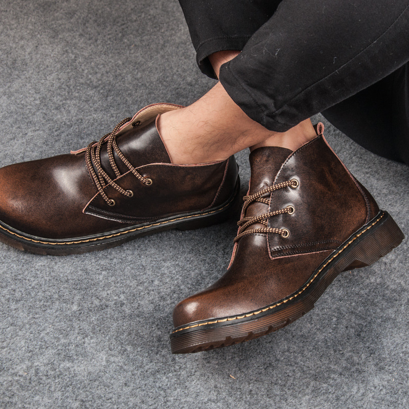Aliexpress.com : Buy Spring and summer men's England Martin boots ...