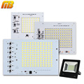 SMD LED Lamps Chip Smart IC 220V 10W 20W 30W 50W 90W For Outdoor FloodLight Cold White/Warm White