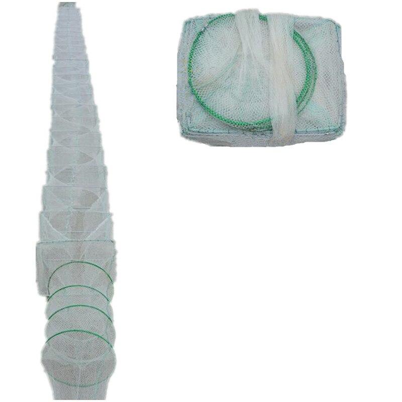 Rede de Pesca ao ar Monofilame Nylon Net Ferramenta Depth1.2m-1.5