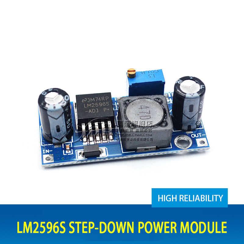 LM2596S DC-DC Регулируемый понижающий Напряжение регулятор Питание 3A 12/24 В до 12 В/24 В до 12 В/5/3,3 V понижающий преобразователь