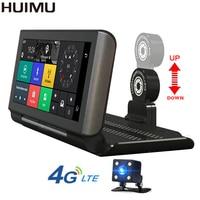 6 86 Inch 4G Car DVR ADAS Dash Cam Bluetooth WIFI GPS Android 5 0 Dual