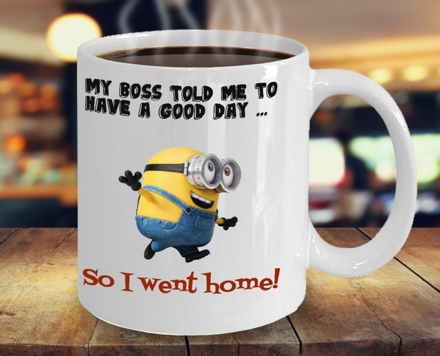 office mugs. Interesting Office Despicable Me Mugs Minion Coffee Mug Boss Office Wine Cups Milk Beer  Cup And Office Mugs O
