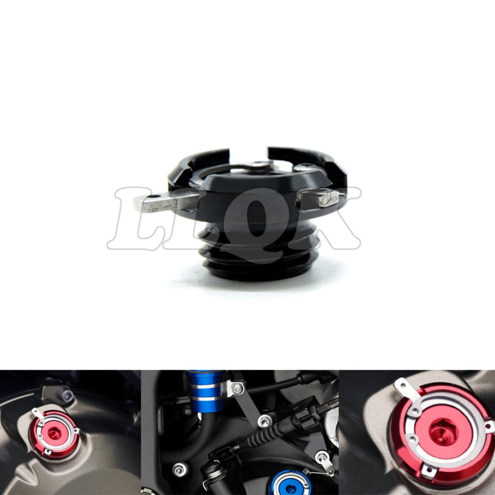 M20*2.5 motorcycle  oil cap cnc motorbike Filler Cover Screw FOR Honda VFR800 VFR800F VFR 800 800F kawasaki z800 13-14 aluminum alloy oil filler cap for yueda kia hyundai motor honda fiesta silver