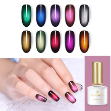 BORN PRETTY Glamorous Cat Eye UV Gel Polish 6ml Magnetic Shimmer Soak Off LED Nail Lacquer Manicure DIY