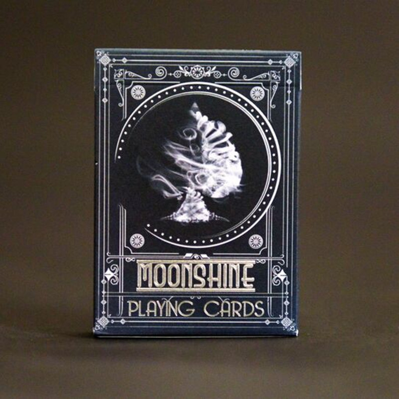 1 Pcs Midnight Moonshine Deck Play Cards By USPCC And Enigma Ltd. From Murphy's Magic Props Limited  New Sealed Magia Tricks