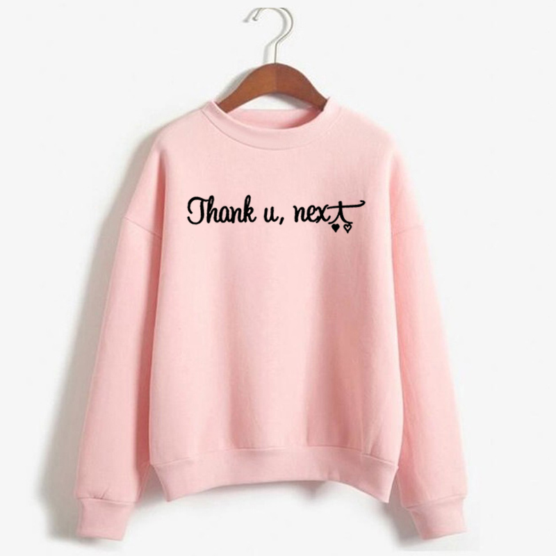Hoodie Womens Clothing  Harajuku Ariana Grande Sweatshirt WomenThank U Next God Is A Woman Crewneck Sweatshirts