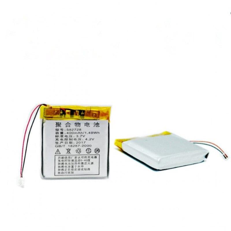 ZycBeautiful 582728 3.7V 400 mAh dla dzieci zegarek gps wymienna bateria