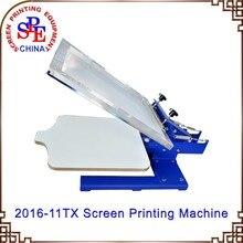 one color manual screen printing machine single color screen printing machine press