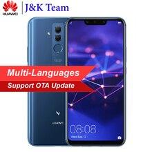 Huawei Mate 20 Lite Maimang 7 6 GB 64 GB 6.3 inç 24MP Dört AI Kamera Çift SIM MobilePhone 3750 mAh Pil Smartphone Android 8.1