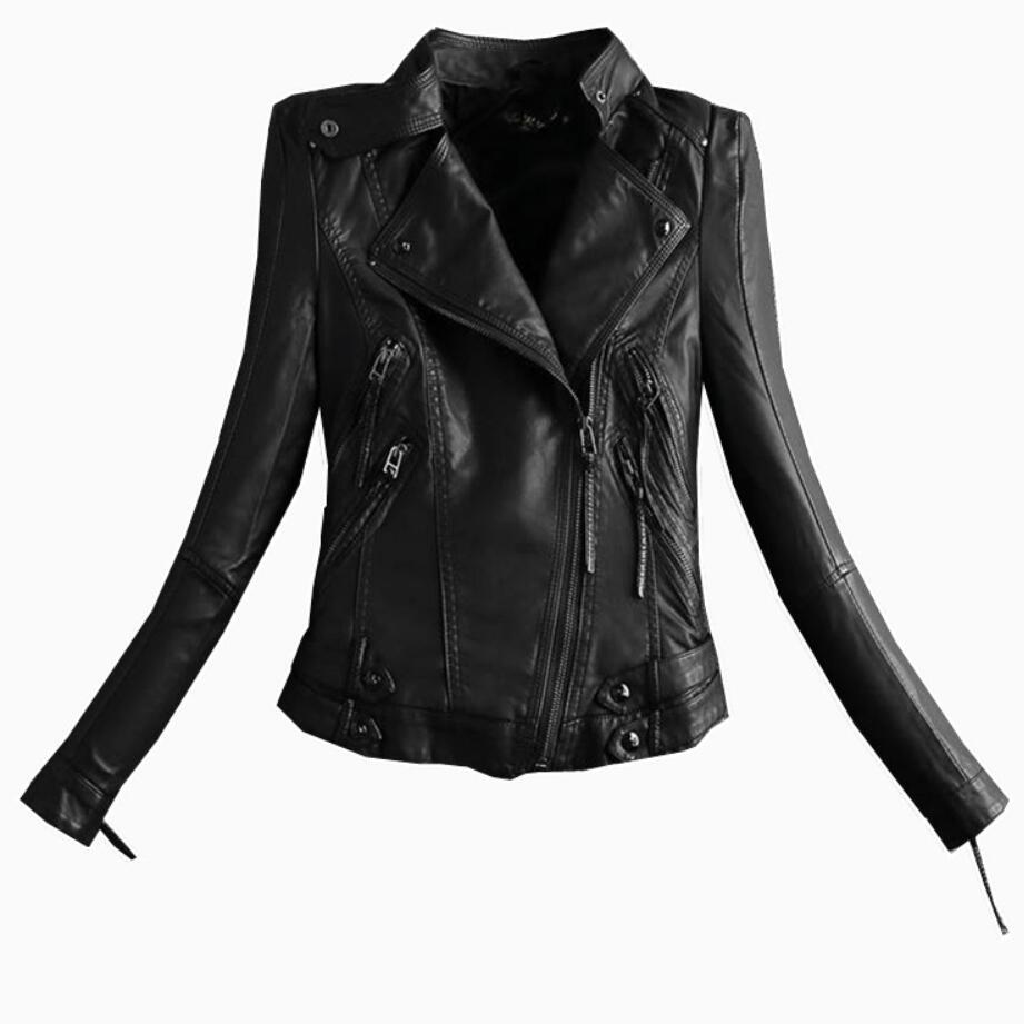 Plus Size Womens Motorcycle Jacket