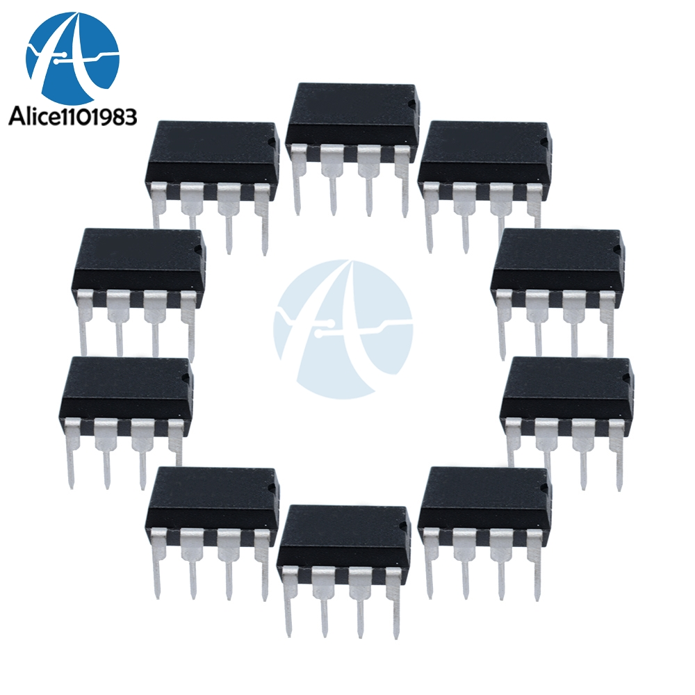 20pcs Tda2822m Dip8 Tda2822 Dip Ic Chip Amp Aux Amplifier New Low Power Stereo Original In Integrated Circuits From Electronic Components Supplies On