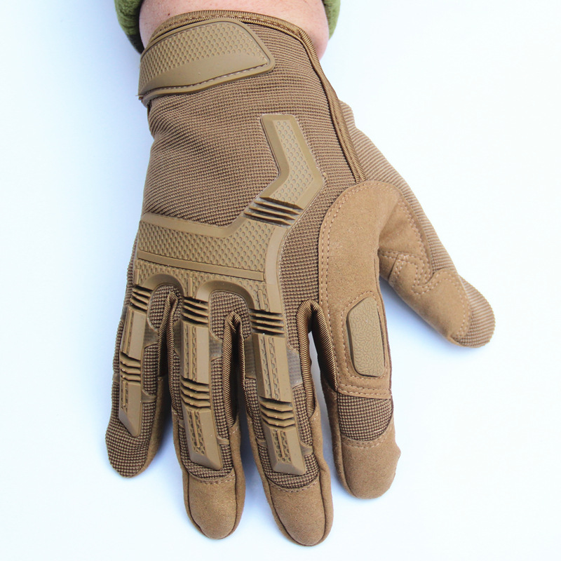Outdoor Hiking Camping Safety Gloves Super Technician Full Finger Tactical Cycling Riding Waterproof Skiing Gloves