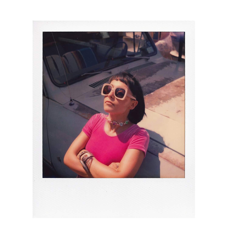 Originaux couleur SX-70 Film 8 feuilles Photos instantanées blanc cadre papier pour Vintage SX-70 boîte Type 1000 caméras - 5