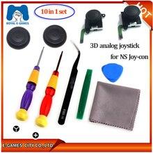 3D Джойстик для NS Joy Con shand переключатель левый и правый аналоговые палочки Замена для Joy Stick Аксессуары для ремонта регулятора+ Инструменты