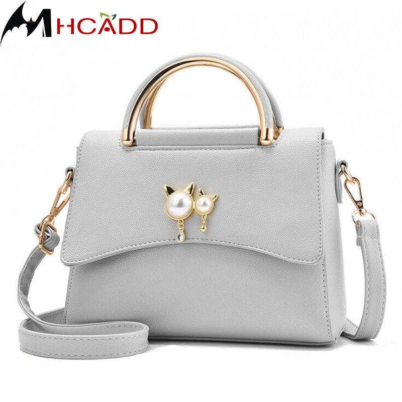 MHCADD 2018 New Fashion Small Ladies Messenger Bags Leather Shoulder Bags Women Crossbody Bag For Girl Brand Women Handbags