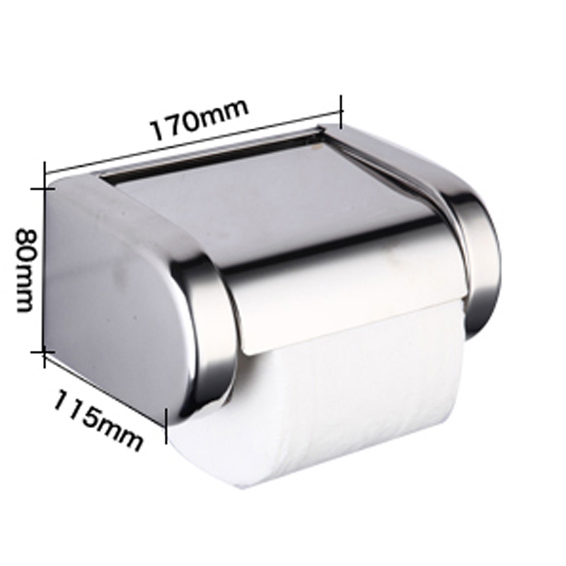 Newly Modern Style Bathroom Toilet Paper Holder Stainless Steel