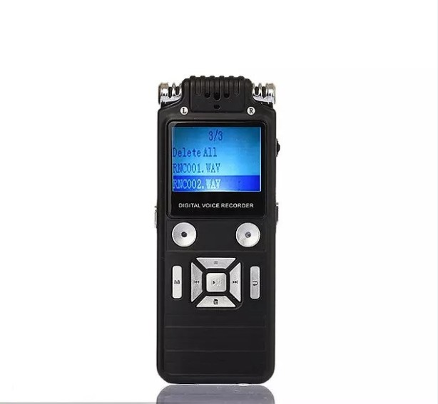 Digital Voice Recorder Offen 8 Gb Digital Voice Recorder Diktiergerät Große Schwarz Professional Business Portable Dual-core Usb Audio Recorder Der Mp3/wav