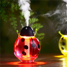 Cartoon Beetle Mini USB Night Light Aroma Air Humidifier  Diffuser Mist Maker For Car Baby Bedroom