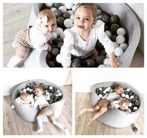 Image 5 - 어린이 공 구 덩이 뜨거운 어린이 펜싱 놀이터 부드러운 라운드 어린이 공 수영장 실내 보육 놀이 아기 유아 방에 대 한 장난감 선물