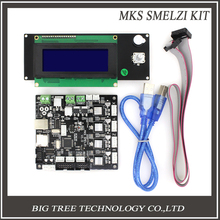 MKS SMelzi + MINI12864 Melzi Impresora 3d Kit Placa Base