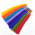 50pcs Boho Charms Silk Tassels Jewelry Making Tassels DIY for Keychain Necklace Earrings Craft Supplies mix colors