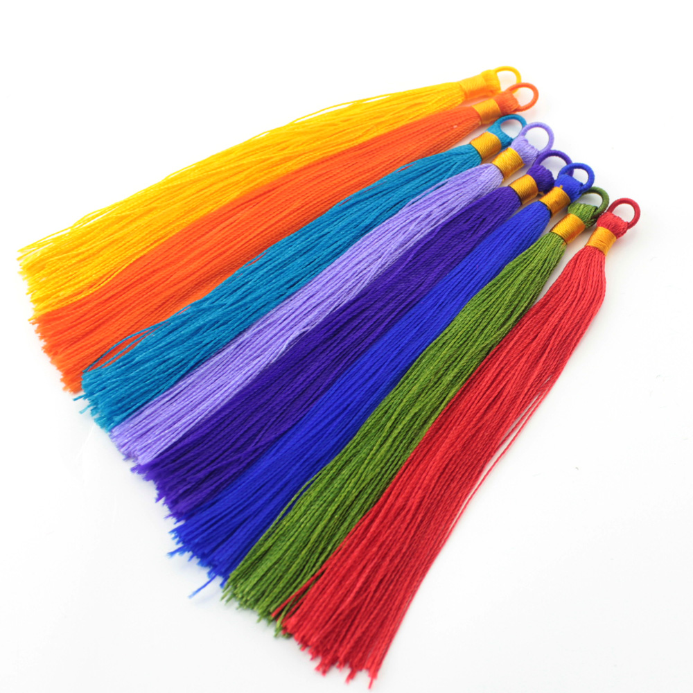 Online buy wholesale tassel making supplies from china for Craft and jewelry supplies