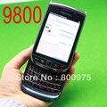 Оригинальный BlackBerry Torch 9800 Мобильный Телефон Смартфон Разблокирована 3 Г Wi-Fi Bluetooth GPS 4 Г Хранения Мобильного Телефона и Черный