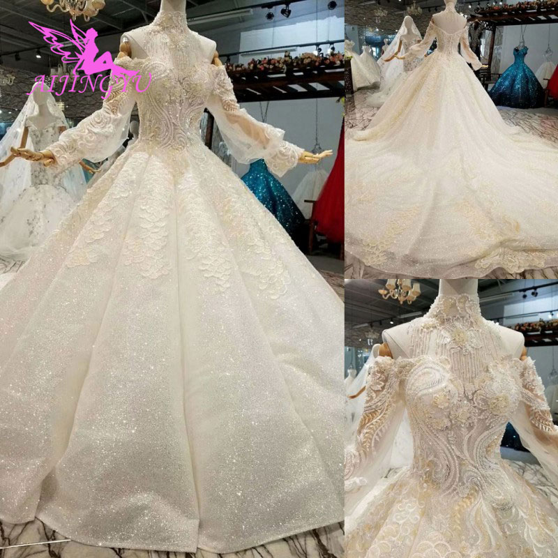 Us 495 0 Aijingyu Wedding Gown And Luxury Dresses Cheap Near Me Lace Indian Beautiful Gowns Wedding Princess Dress In Wedding Dresses From Weddings