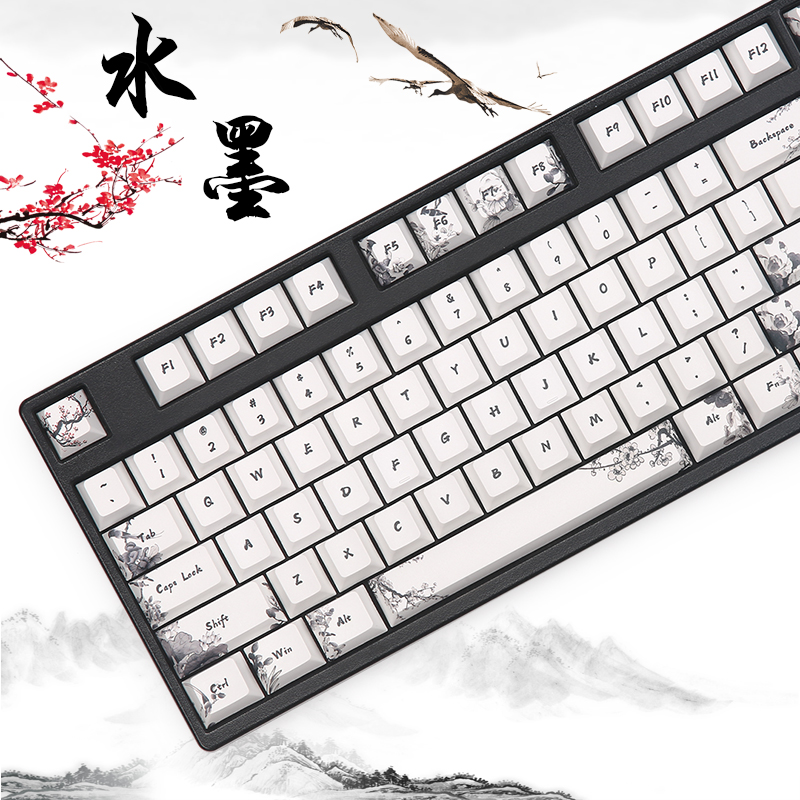 Dye Subbed Keycap Cherry Profile Fit Gk64