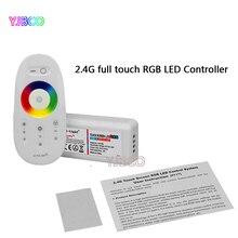 цена на FUT025 Milight DC12-24V 2.4G Wireless Touch screen led RGB controller 18A RF remote control for led RGB strip/bulb/downlight/tap