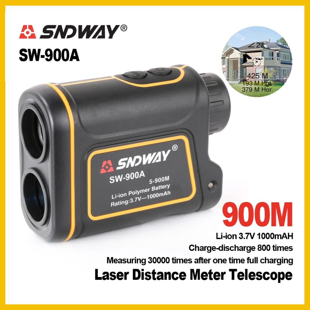 sw SNDWAY Golf rangefinder Slaser distance meter hunting camera speed meter telescope SW-900A SW-1200A SW-1500A