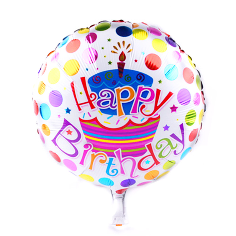 Event & Party Self-sealing A-012 Imported From Abroad Xxpwj New Hot 18 Inches Happy Birthday Cartoon Childrens Toys Wholesale Party Decoration Aluminum Balloons Festive & Party Supplies