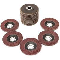 15pcs Flap Discs 115mm 4 5 Amp Quot Sanding Discs 40 60 80 Grit Grinding Wheels