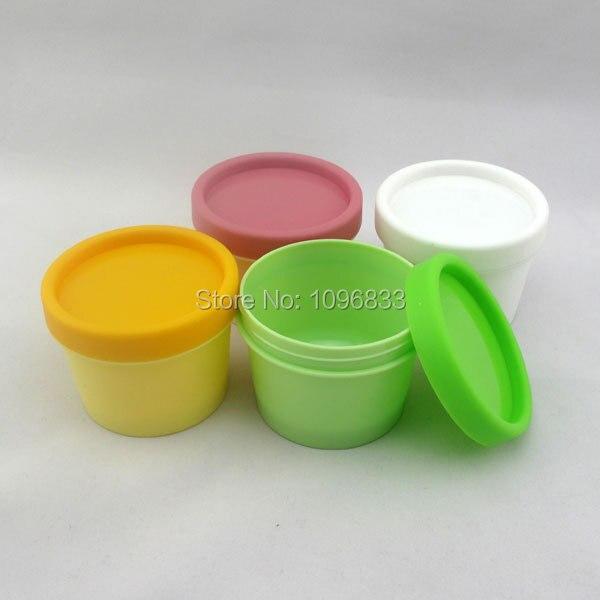 100g Cosmetic Mask Jar Cream Jar Plastic Bottle container Plastic Tank 100ml Plastic Barrel Shaped Pot