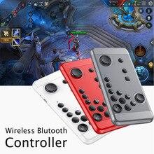 Gamepad sem fio Bluetooth Para A Greve dos Reis Móvel Jogo Handheld Console de Joystick Para IOS Android PC TV Controle Remoto