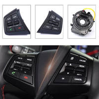 A set For Hyundai creta IX25 Audio Radio Control Cruise Control Switch Steering Wheel Switch Button Bluetooth phone with wire
