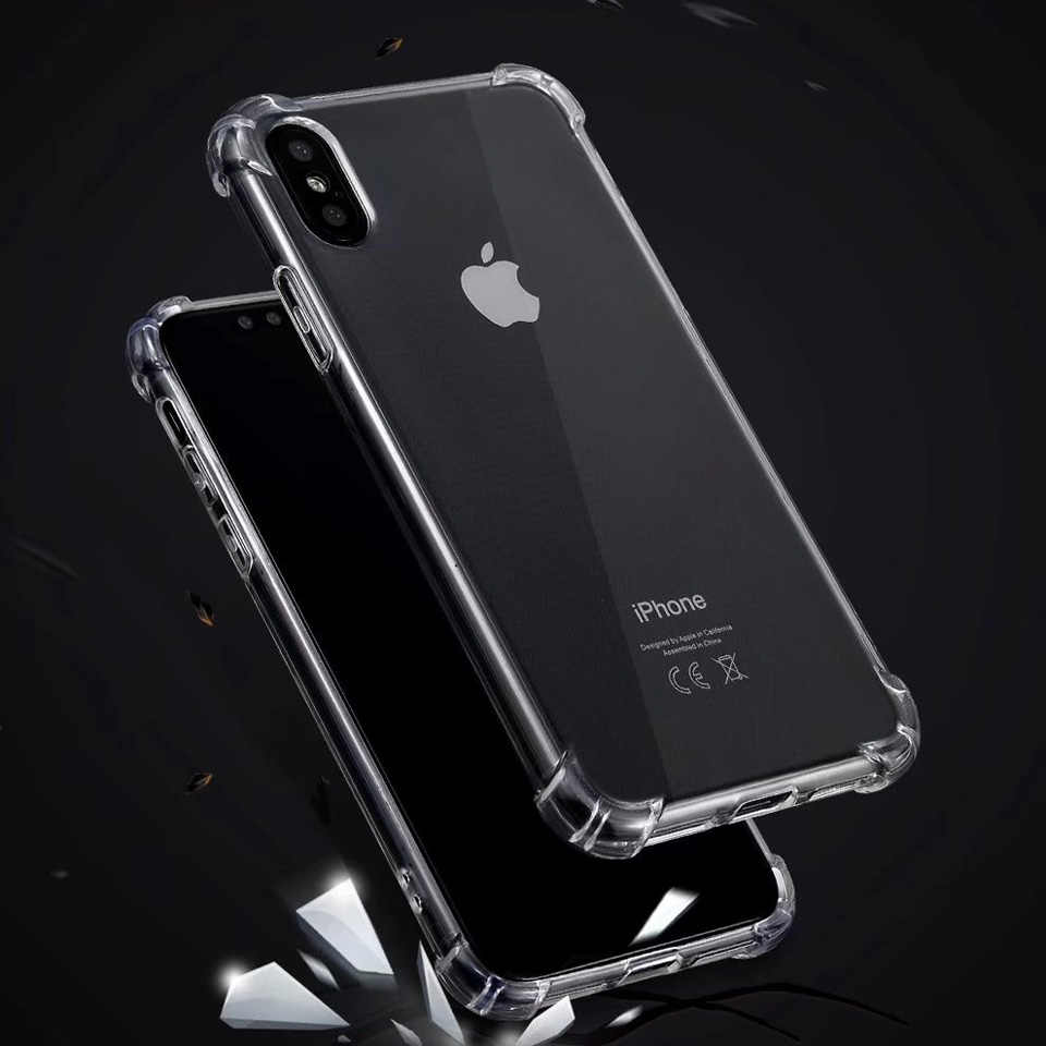Anti-Shock Penuh Pelindung Case untuk iPhone XR X Max SE 5 5 S 6 6 S 7 8 plus XR X Max Nokia 3 6 2018 9 3.1 5.1 6.1 Silicone Cover