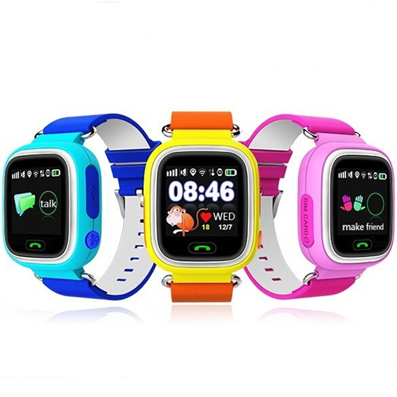 GPS Smart font b Watch b font Baby font b Watch b font Q90 With Wifi
