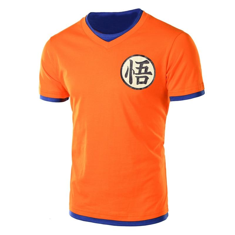 Dragon ball super t shirt goku costume men's  tshirt anime male dragonball super z beerus blue  t-shirt clothing top tees-0