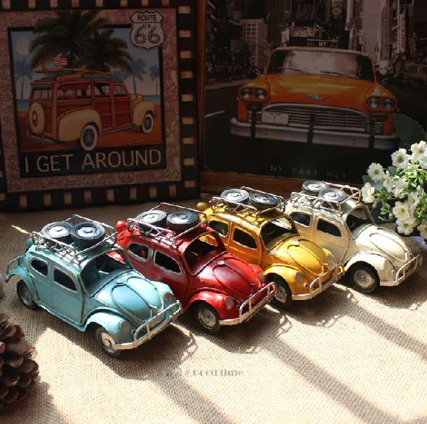 vintage style metro miniature car metal european mini car model home decoration craft model car. Black Bedroom Furniture Sets. Home Design Ideas