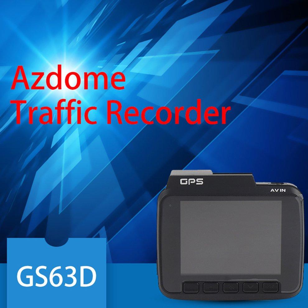 Azdome GS63D Dual Lens Car DVR FHD 1080P Front + VGA Rear Recorder Dash Cam Novatek 96660 With Rear Camera Built in WiFiAzdome GS63D Dual Lens Car DVR FHD 1080P Front + VGA Rear Recorder Dash Cam Novatek 96660 With Rear Camera Built in WiFi