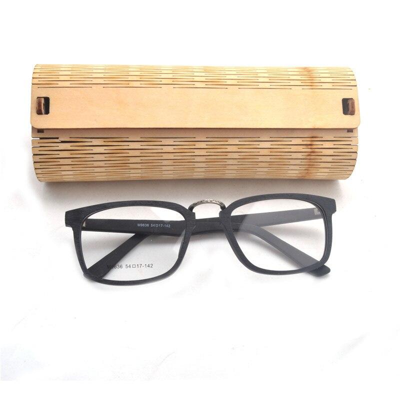 538b2d5e259 Prescription Eyeglasses Frames Wood Grain Optical Glasses Frame with Clear  Lens Men Women Wooden Glasses Frames NX-in Eyewear Frames from Men s  Clothing ...