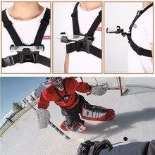 High Quality Elastic Belt Adjustable Mount Holder For Sports Action Camera Smart Phone Holder Stand Outdoor Chest Strap
