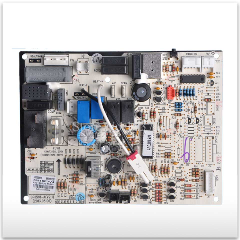 100% new for Air conditioning computer board circuit board M518F3B 30035568 good working 95% new for haier refrigerator computer board circuit board bcd 198k 0064000619 driver board good working